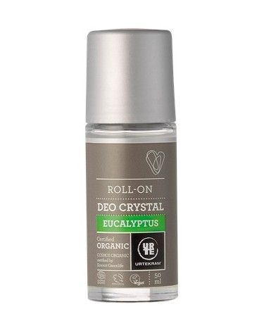 Desodorante Roll-on, Eucalipto, 50ml, Urtekram
