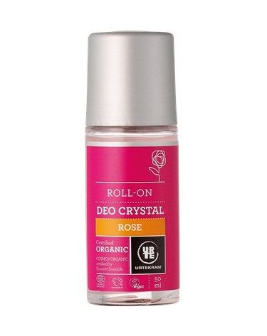 Desodorante Roll-on, Rosas, 50ml, Urtekram