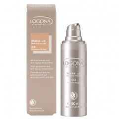Maquillaje Natural Finish Medium Beige 03, Logona