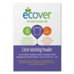 Detergente Polvo Ecover - Ropa Color 1.2 kg, Biodegradable