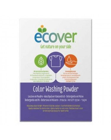 Detergente Polvo Ecover, Ropa Color, 1.2 kg, Biodegradable