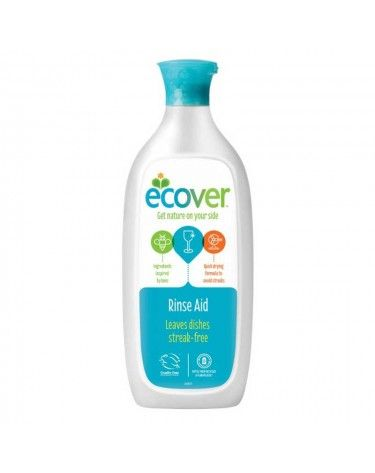 Abrillantador Ecover, 500ml para lavavajillas, biodegradable