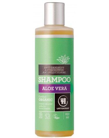 Champú Aloe Vera anticaspa bio, 250 ml, Urtekram