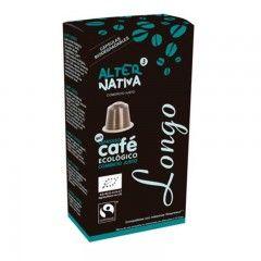 Café Longo Ecológico en Cápsulas Compatibles Nespresso, Alternativa 3