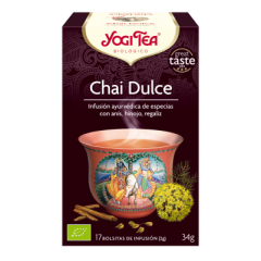 "Infusión Bio ""Sweet Chai"", Yogi Tea"