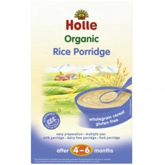 Papillas Holle de Crema de Arroz Ecológicas, 250 g Holle