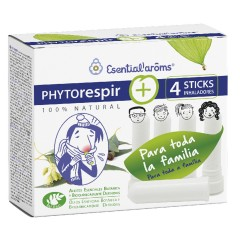 Phytorespir +4 Sticks inhaladores, Esential Aroms